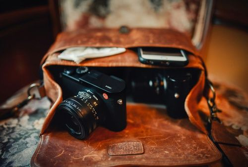 I want to have an old leather bag aesthetic about me and carry a camera and field notes to just take random pictures or notes!