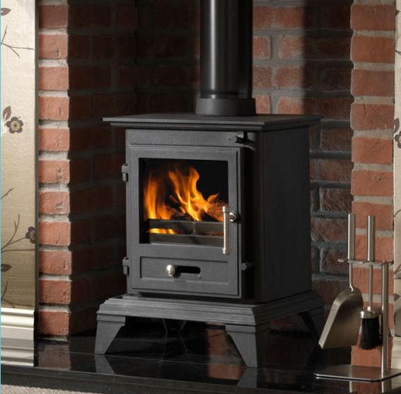 4.9KW Firefox 5 Clean Burn Classic Multi Fuel Stove | Buy Traditional Multi Fuel Stoves Online | UK Stoves