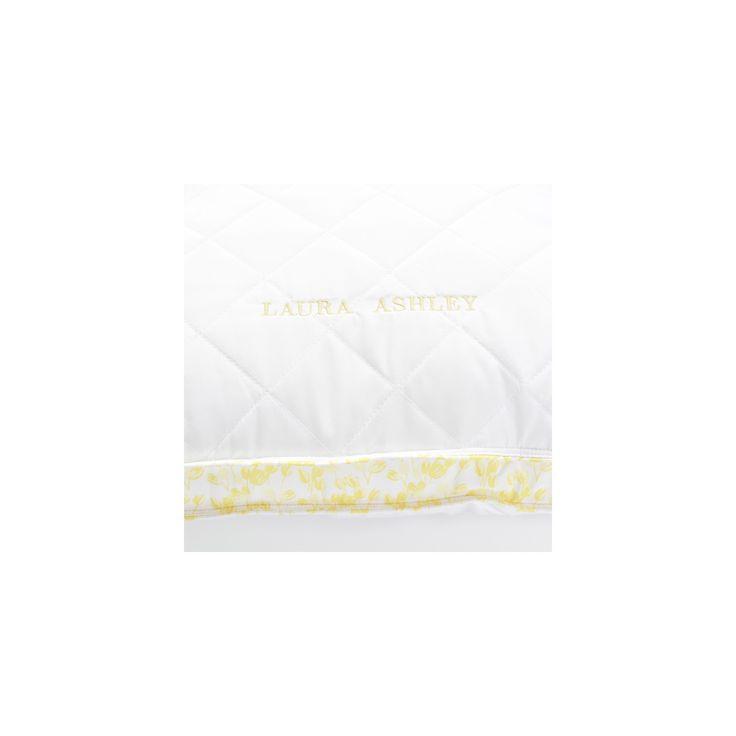 ava body pillow white u0026 yellow laura ashley