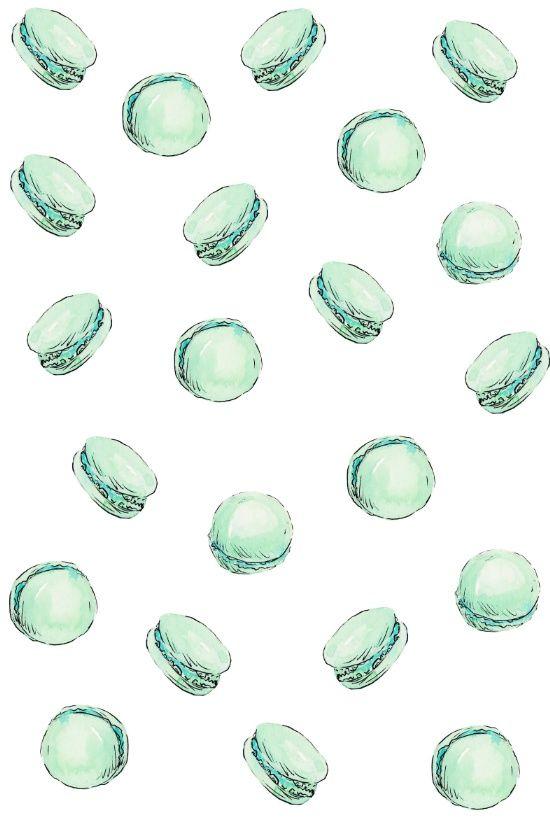 Mint Macaron Art Print