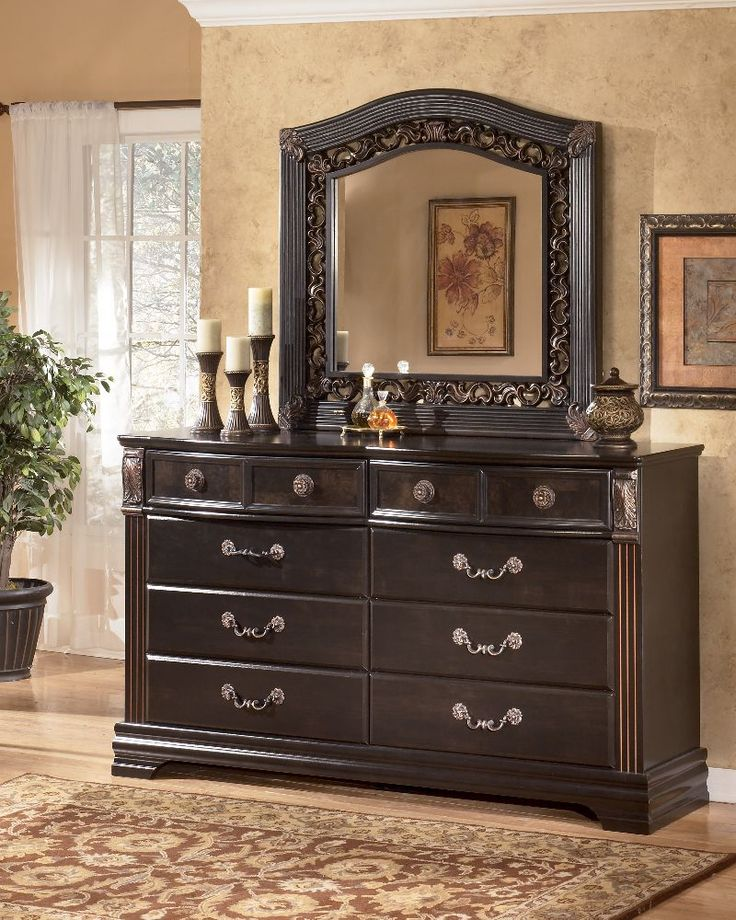 mirror with nacey dresser buy com from coaster by dark sku mmfurniture brown