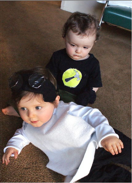 dr horrible and captain hammer babies if i have kids you can bet i boy halloween costumespoor - Dr Horrible Halloween Costume