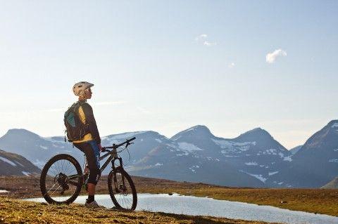 Kaisa Härkönen chilling at #Tamokdalen - Pole Bicycles
