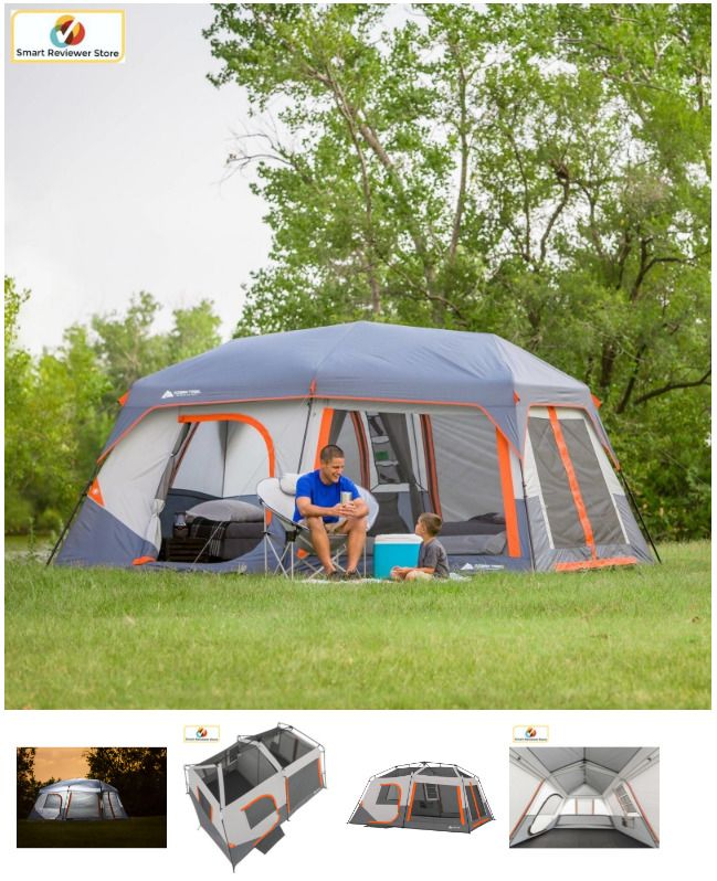 New Camping Tent Instant Cabin Outdoor Picnic Camp Travel Family House 10 Person Ozark Cabin Tent Tent Camping Outdoor Picnics