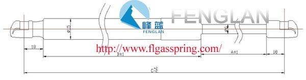 FENGLAN ¢6MM STRUTS--Gas spring gas spring,industrial gas springs,gas spring china,gas spring manufacturers,Free type Ball-Socket Series,Ball-Socket Series gas spring,compressed gas spring,Auto Accessories Description: FEATURES:         QPQ coating on shaft         Plastic quick-fit ends PISTON ROD﹠CYLINDER DIMENSIONS:         ¢6mm piston rod         ¢15mm cylinder Application:car hood;tool case;street lamp;cabinet furniture;fitness equipment;mechanical equipment,etc…