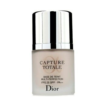 Dior Capture Totale Multi Perfection Refining base SPF 25 Anti- ageing primer Weightless texture spreads evenly over skin Instantly banishes dark areas & imperfections Restores firmness while revitalizing facial contours Extends your makeup wear Skin appears plumper and more luminous Info grabbed from Dior website I wear this under my Dior Capture Totale serum foundation in shade 033 Apricot beige in winter im in shade 030 medium beige.