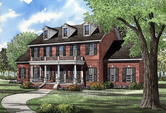 House Plans House Interiors And Colonial House Plans On Pinterest