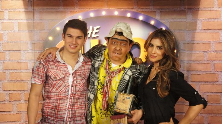 Jessica Cediel y Pipe Bueno en The Suso's Show.