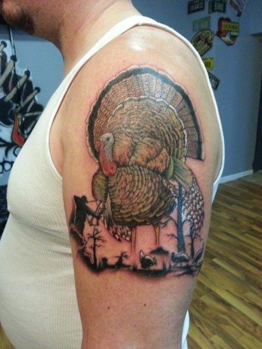 turkey tattoo