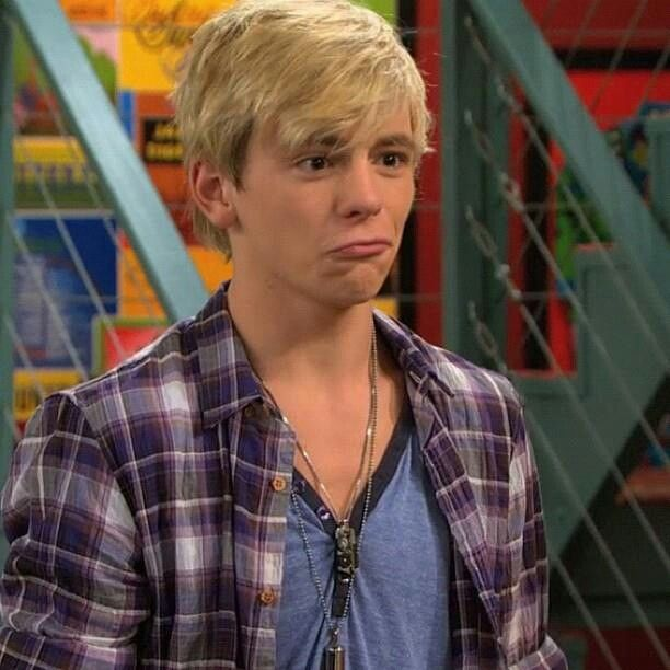 Ross Lynch ❤️❤️❤️ on austin and ally