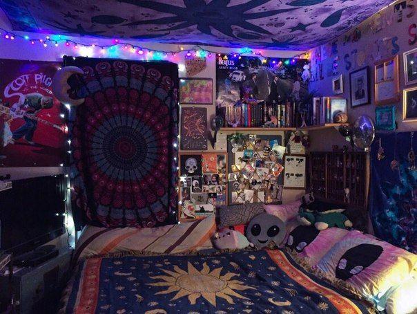 Bedroom Kid S Bedroom Grunge Room Tapestry Bedroom