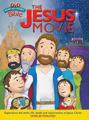 """[""""Based on the art style of the Read and Share\u00ae Bible<\/i>, The Jesus Movie<\/i> transports children to Nazareth for the story of Jesus\u2019 birth, follows His life and miracles along the shores of Lake Galilee and ends in Jerusalem with his arrest, crucifixion and resurrection. Your little ones will love the 3D animation as they discover the greatest story ever told for the first time.The excitement and joy of Jesus\u2019 life, the danger and conflict with the Pharisees, ..."""
