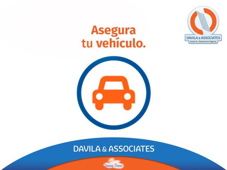 Asegura tu vehículo con nosotros y maneja sin preocupación, ¡contáctanos! #seguro #auto #SeguroDeAutomovil #segurosdavila#contigo #mexico