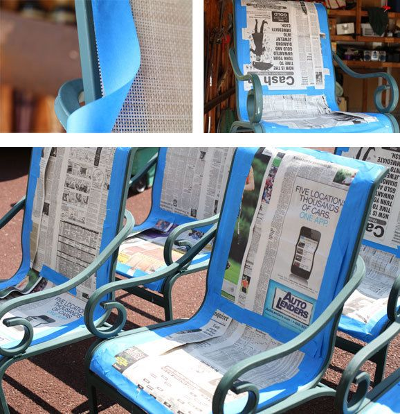 Superior How To Paint Patio Furniture