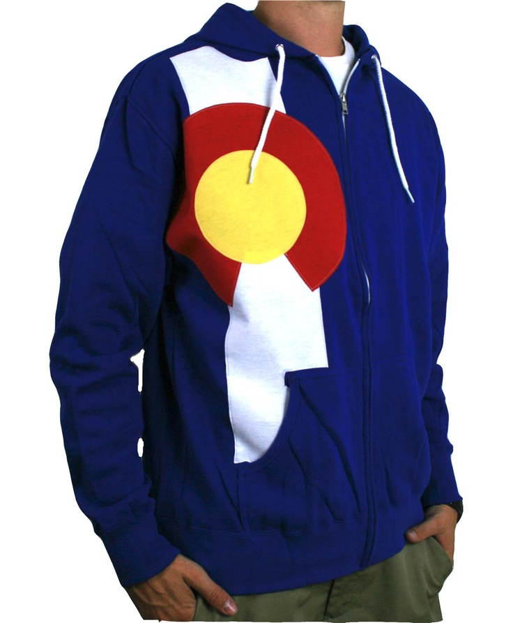 Colorado Flag Hoodie Men's Full Zip Colorado State Flag Hoodie Colorado Hoodie Colorado Hooded Sweatshirt Colorado Clothing Denver Colorado 9soVz7v8n