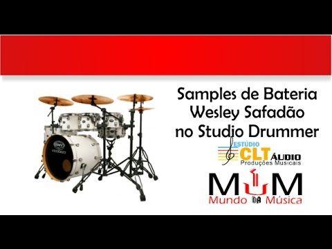 Samples de Bateria Wesley Safadão - Studio Drummer