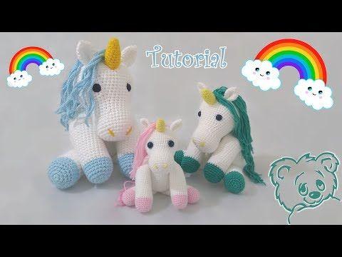 Amigurumi Unicorn Tutorial - YouTube