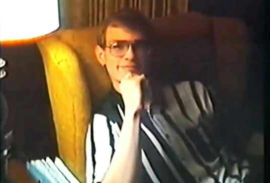 Jeffrey Dahmer at his grandmother, Catherine Dahmers, house in West Allis