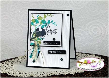 Stampin Up World of Dreams for STamping and blogging, card by sandi @ www.stampinwithsandi.ca