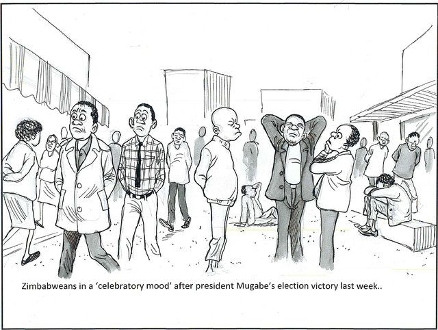From the Zimbabwen, original article entitled 'Why is nobody dancing?'