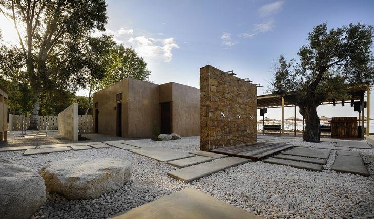 ARCHISEARCH.GR - RIVIERA BAR IN CHALKIDIKI FEATURES A NEW MODERN / SKARLAKIDIS ARCHITECTURE STUDIO + G. BARTZIOUMAS