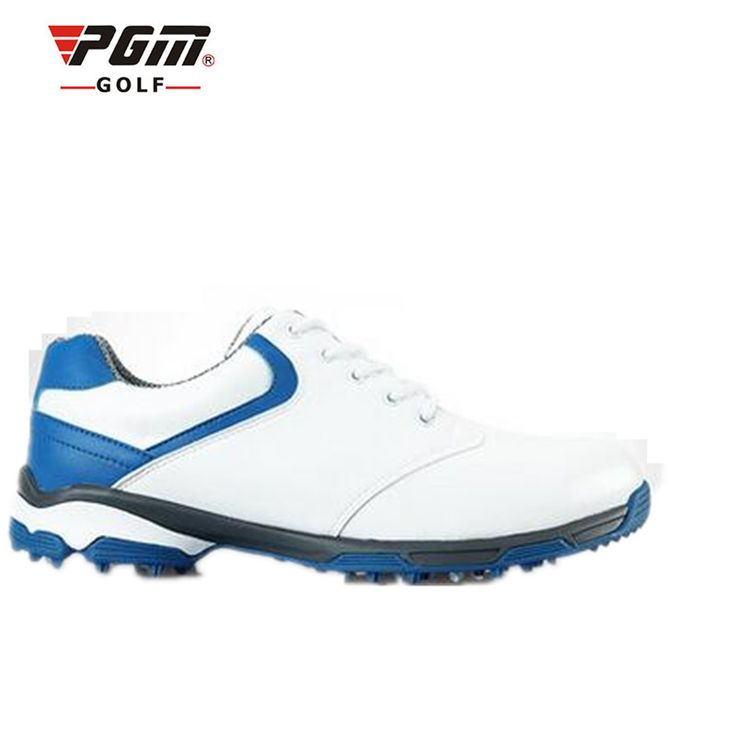 Cheap zapatos de golf, Buy Quality shoes golf men directly from China shoes men golf Suppliers: 2016 Zapatos De Golf 2017 New Pgm Shoes Men's Lightweight Version Of The Patented Anti-skid Studs Round Waterproof Side Cleats