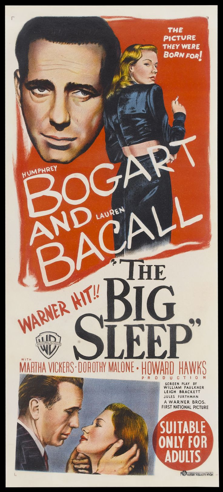 The Big Sleep | Australian Daybill, 1946 - El sueño eterno