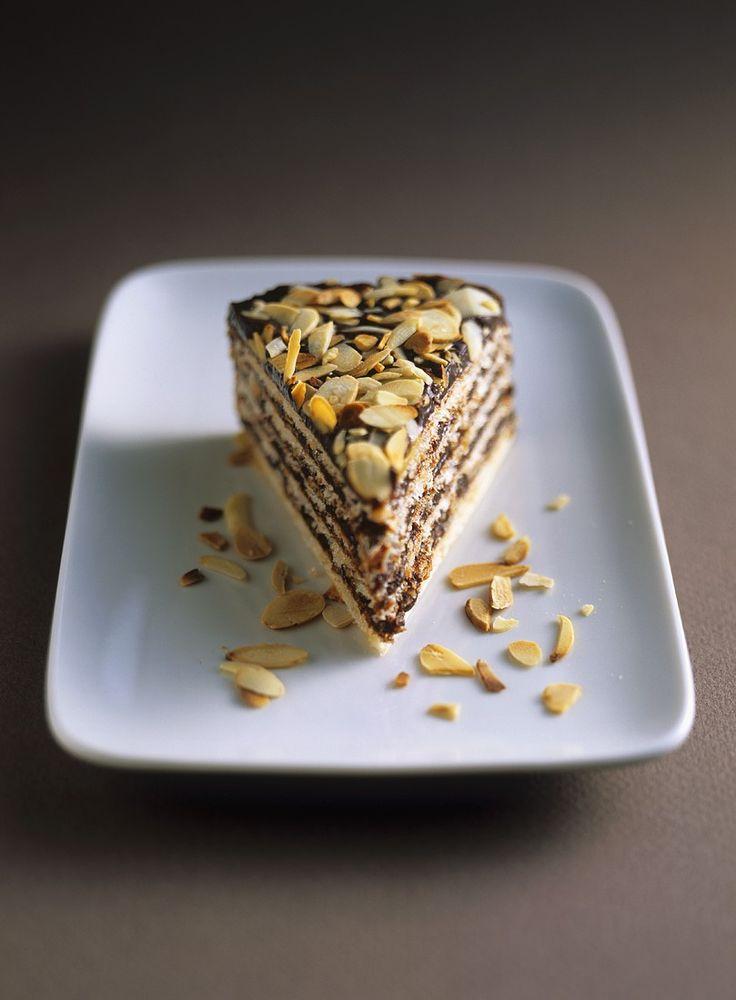 Schoko-Mandel-Torte | http://eatsmarter.de/rezepte/schoko-mandel-torte-0