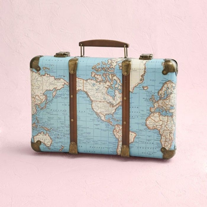 Vintage Koffer Around The World