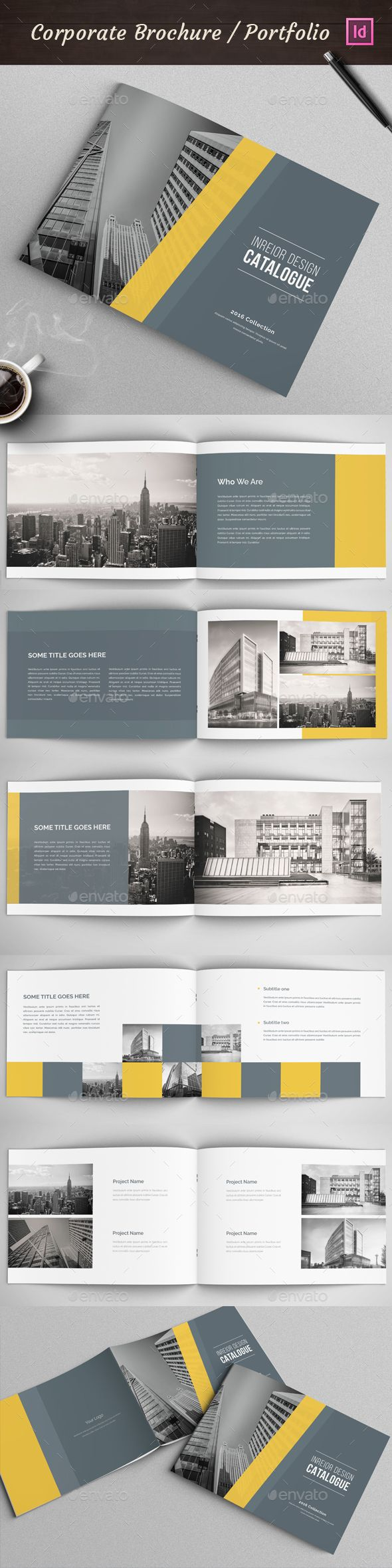 Modern Architecture Brochure Template InDesign INDD. Download here: http://graphicriver.net/item/modern-architecture-brochure/15418057?ref=ksioks