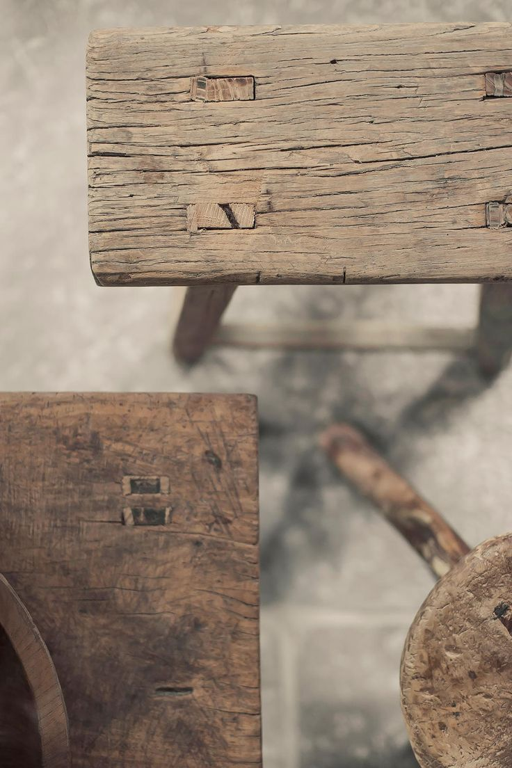 Weathered Wood Details Asian Home Decor Wood