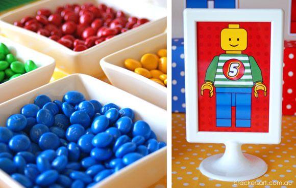 Harvey's 5th Birthday - Lego Inspired Theme