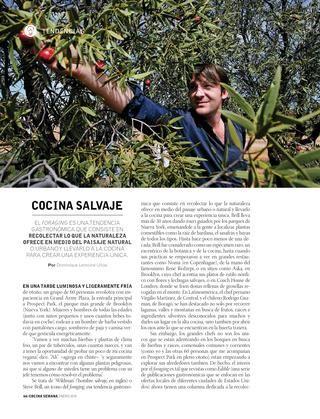 Cocina Semana Col 01 16  Revista Cocina Semana Colombia. Enero 2016
