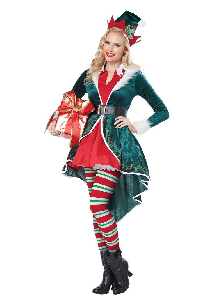 Christmas+elf+costume+Women | Women's Sexy Elf Costume