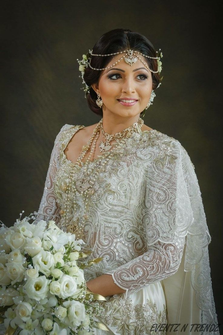 63 best Indian White Wedding Dress images on Pinterest | White ...