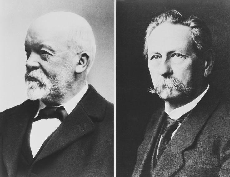 Carl Benz i Gottlieb Daimler, 1885 izumili prvi automobil s benzinskim motorom
