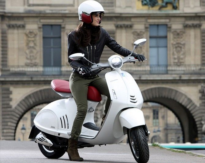 The all-new Vespa 946 scooter