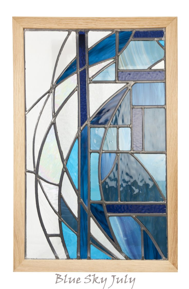 Simple stained glass window designs the for Modern glass designs