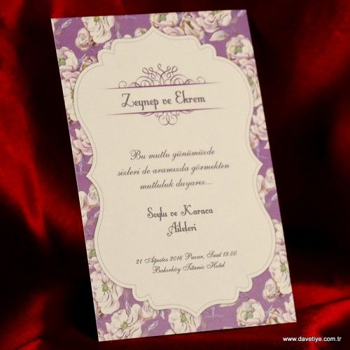 Ezgi Davetiye 609 #davetiye #wedding #weddingcards