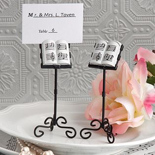 bring music to a recital or a wedding with our whimsical music stand place card holders whether youre celebrating a garden party or coming together for