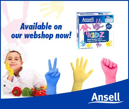 Kids in the kitchen and chilli might equal burning eyes! If your littlies are helping make a spicy dish pop on a pair of Ansell KIDZ gloves to save them a few tears.