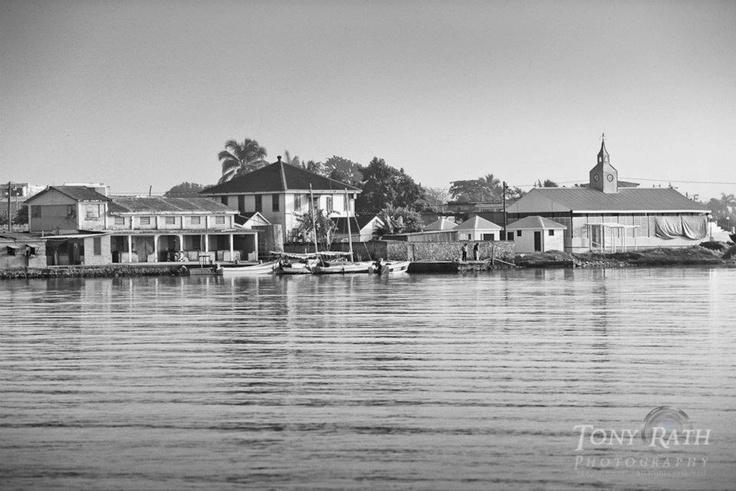Corozal Town Waterfront