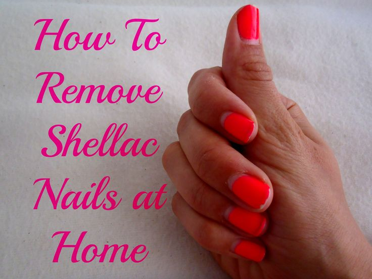 Removing Shellac Nails At Home: Oh Yes, It's Possible!