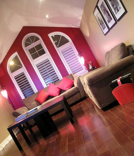 Best 20+ Red accent walls ideas on Pinterest Red accent bedroom - red and brown living room