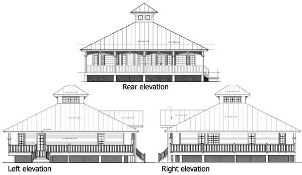 Plan 24046bg florida cracker style pole barn for Florida cracker house plans wrap around porch