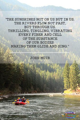 Happy Earth Day everyone! We heard John Muir described as the ultimate conservationist this afternoon and we couldn't agree with that statement more.