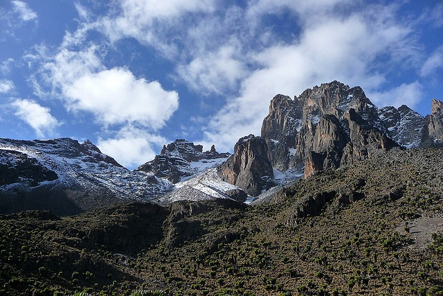 Mount Kenya  #World Heritage