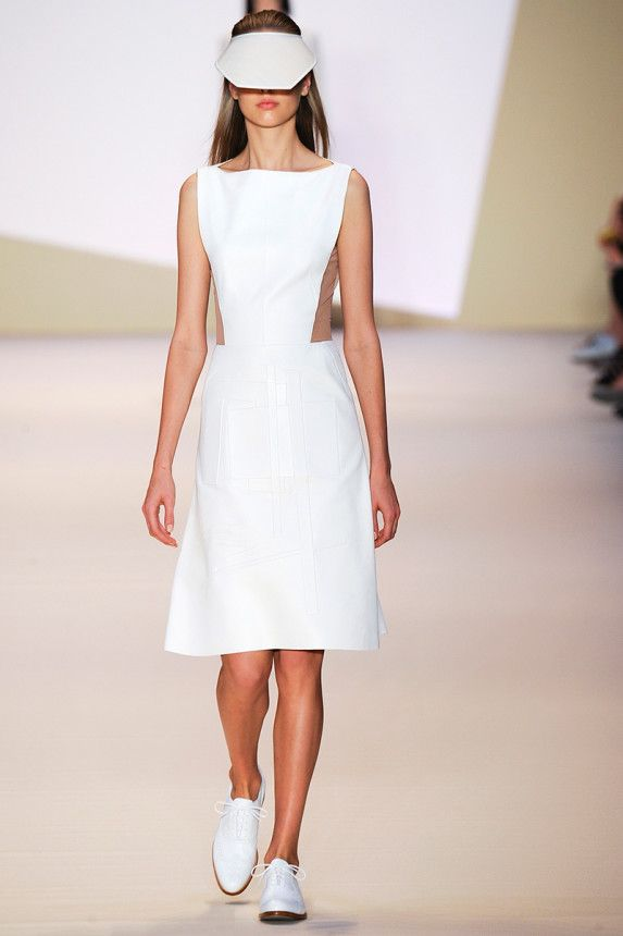 Akris Spring 2015.  See the collection on Vogue.com.