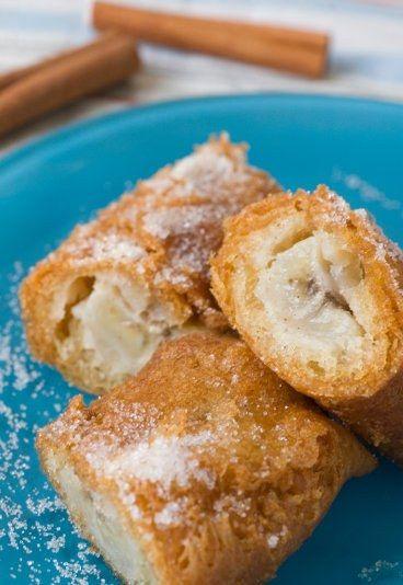 Facile, sympa et pas chère, la recette des beignets de banane.