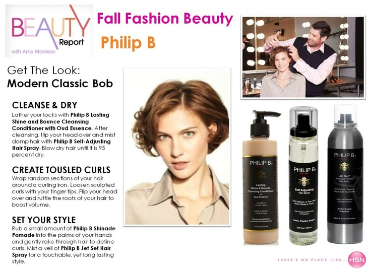 Fall Fashion Tips and Trends from hair stylist Philip B.